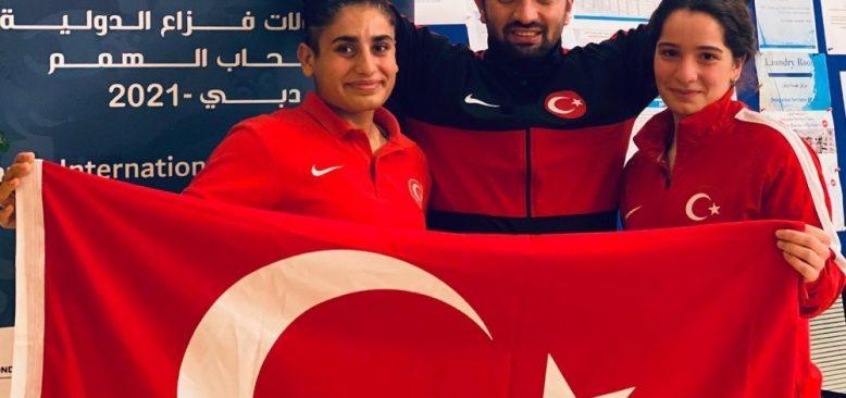 Eda Yıldırım gülle atmada Türkiye rekorunu kırdı