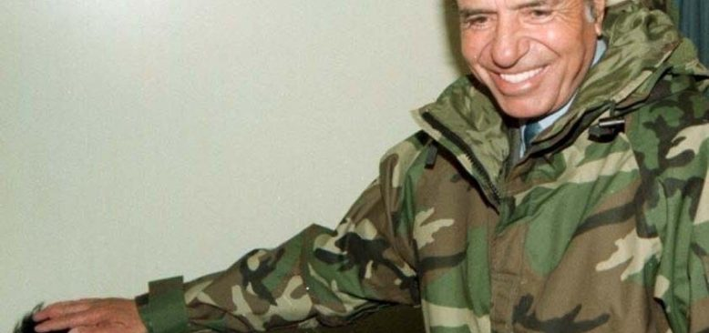 Eski Arjantin Devlet Başkanı Menem, 90 yaşında hayatını kaybetti