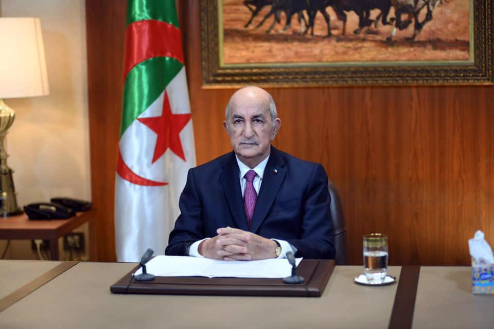 Cezayir Cumhurbaşkanı Tebbun, parlamentonun alt kanadını feshetti