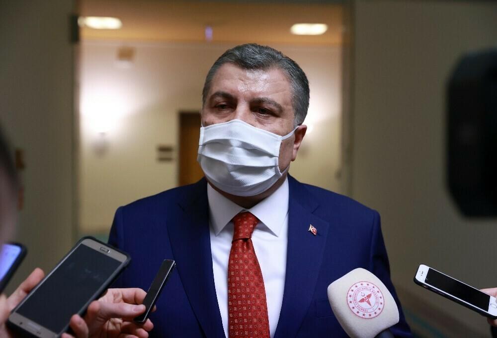 """Sağlık Bakanı Koca """"Özür diledi"""""""