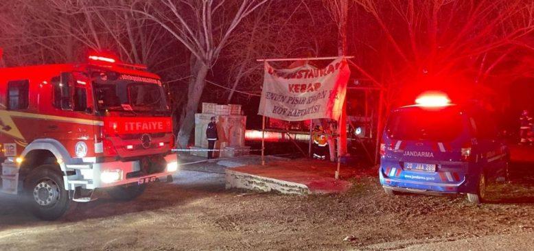 Alevlere teslim olan restoran 3 kişiye mezar oldu