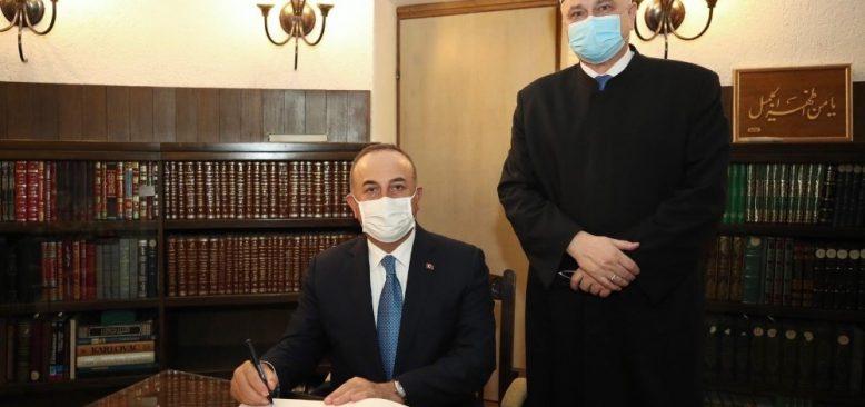 Dışişleri Bakanı Çavuşoğlu, Hırvatistan'da