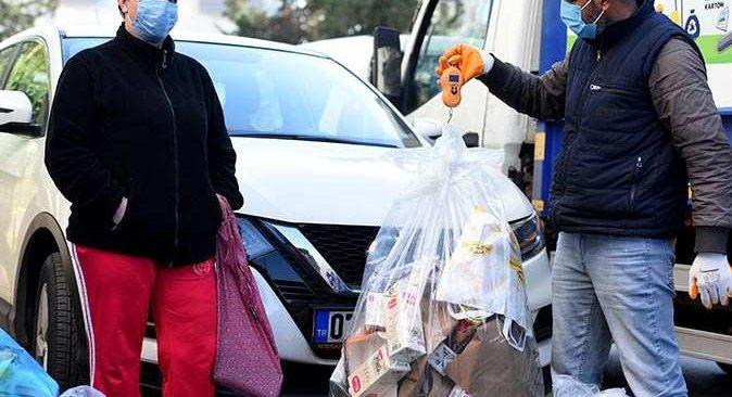Çevreci Komşu Kartlara 1 ayda 64 bin 178 lira yüklendi