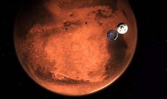 SON DAKİKA! Tarihi süreç tamamlandı! Perseverance Mars'a indi