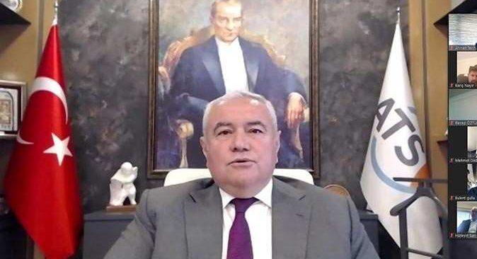 ATSO Başkanı Çetin gündemi değerlendirdi: '20 gün seferberlik ilan edelim'