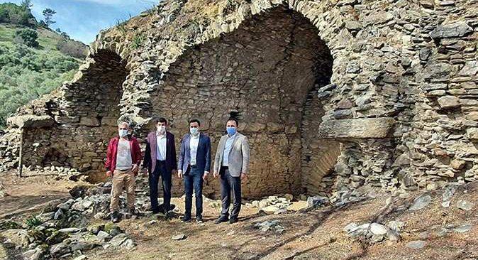 800 yıllık antik dövüş alanı Aydın'ın Nazilli ilçesinde ortaya çıktı