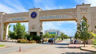 Akdeniz Üniversitesi'den son dakika açıklaması...