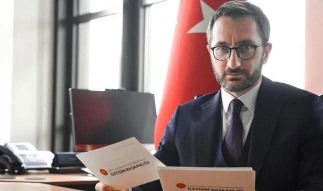İletişim Başkanı Altun'dan 'yeni anayasa' açıklaması
