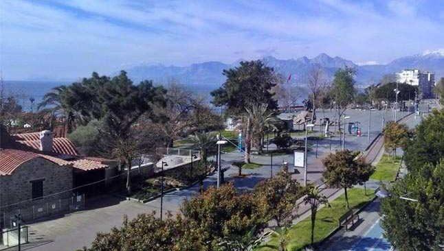 23 Şubat 2021 Salı Antalya hava durumu