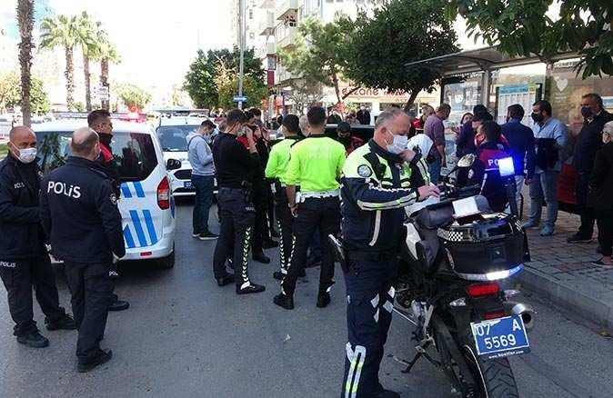 Dur ihtarına uymayıp polise ateş açtılar