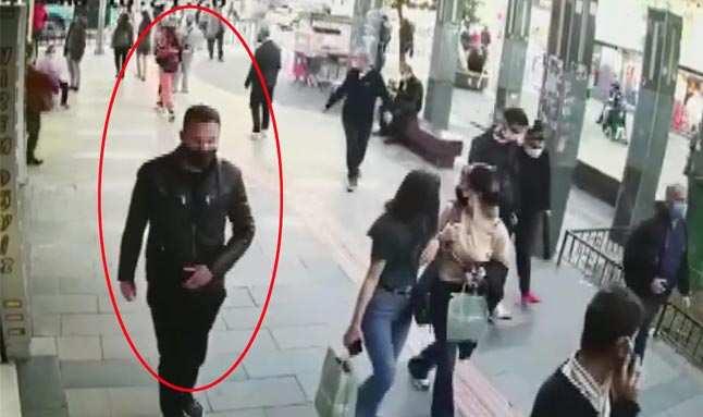 Eşi ve çocuğuyla yürüyen kadına taciz iddiası