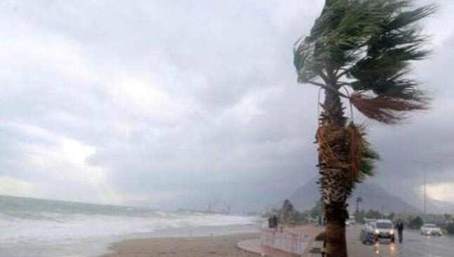 8 Şubat 2021 Pazartesi Antalya hava durumu