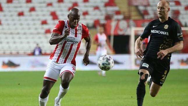 Antalyaspor maçında Yeni Malatyaspor eşitlik bozulmadı