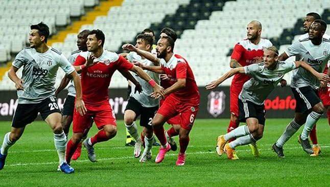 Antalyaspor'un Beşiktaş'la zorlu randevusu