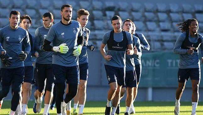 Dinamo Kiev kamp için Antalya'yı seçti