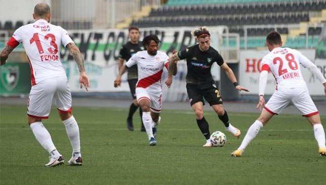Antalyaspor Horoz'dan 1 puan koparttı