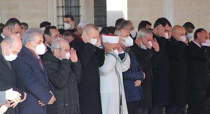 Cumhurbaşkanı Erdoğan'dan son görev! Hafız Abdullah Nazırlı son yolculuğuna uğurlandı