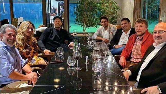 Jason Statham ile otelde sohbet buluşması
