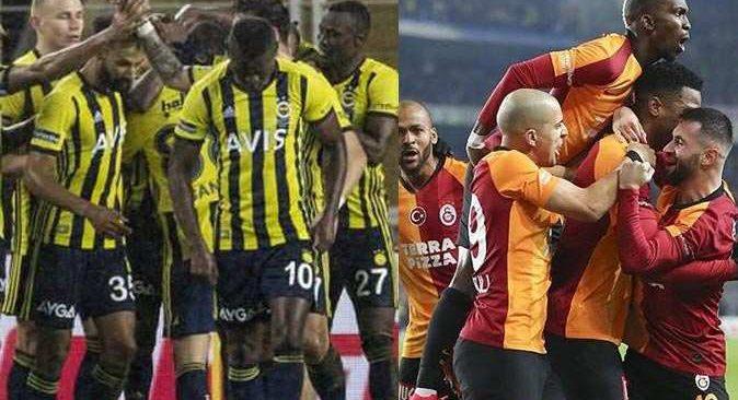 Türkiye Galatasaray Fenerbahçe derbisini bekliyor