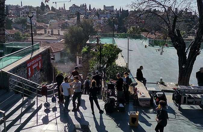 Five Eyes filmi Antalya esnafına can suyu oldu