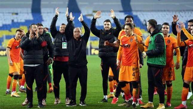 Galatasaray'dan üst üste 5. galibiyet