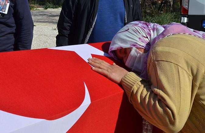 Gazi Ali Kantav son yolculuğuna uğurlandı