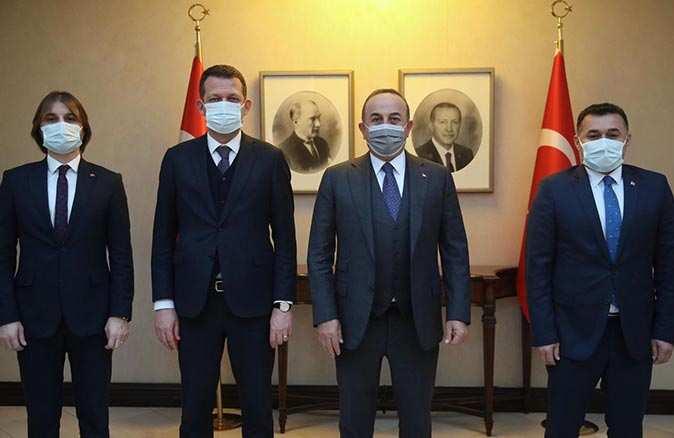 Kaymakam Fatih Ürkmezer ve Başkan Adem Murat Yücel'den Ankara çıkarması