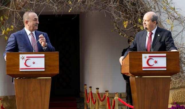 Bakan Çavuşoğlu: KKTC'ye her türlü desteği vereceğiz