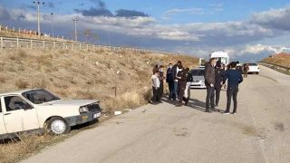 Kırıkkale'de trafik kazası! Yaralılar var