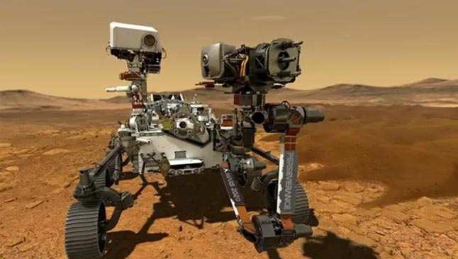 Son Dakika: 'Perseverance', Mars'a iniyor