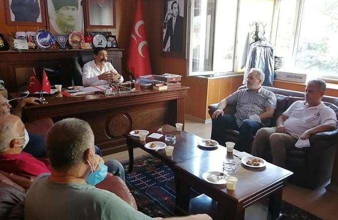MHP İlçe Başkanı Mehmet Seyyar uyuşturucu tehdidini anlattı