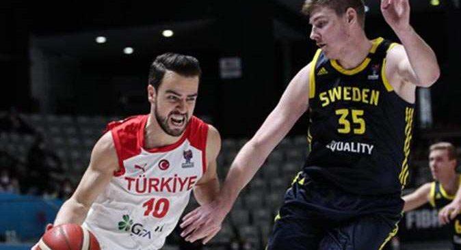 Son dakika... A Milli Erkek Basketbol Takımı, EuroBasket 2022'de