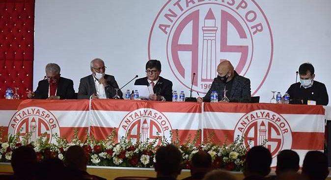 Antalyaspor'un yeni başkanı belli oldu! Mustafa Yılmaz tarihe geçti