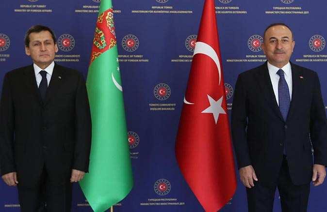Bakan Mevlüt Çavuşoğlu'ndan Türkmen gazı açıklaması