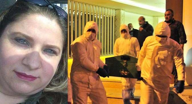 3 çocuk annesi bıçaklanarak öldürüldü