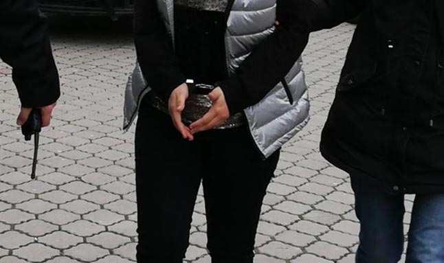 FETÖ'den hapis cezası bulunan o kadın tutuklandı