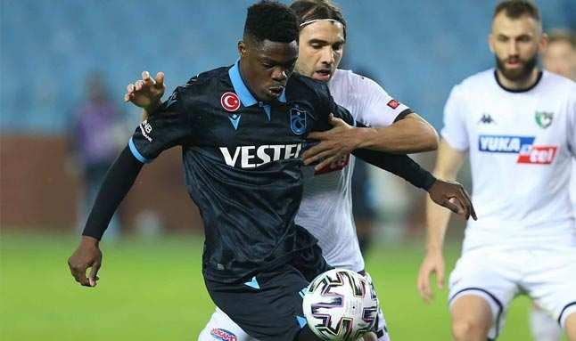 Trabzonspor'dan anlamı gol