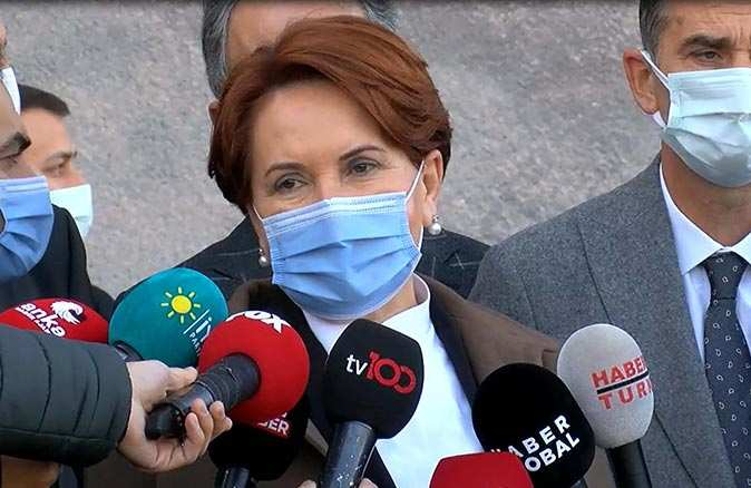 Meral Akşener YSK üyelerine 'hakaret' davasında ifade verdi