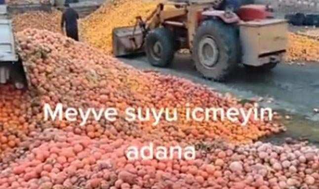 Adana'da 'meyve suyu' skandalı! Büyük tepki çekti