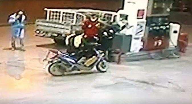 Alanya'yı ayağa kaldıran olay! Yakalanmadan önce akaryakıt istasyonundan bidonla benzin almış