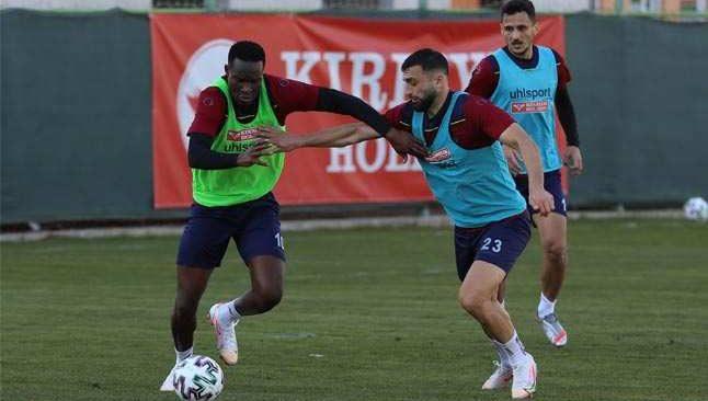 Alanyaspor, Karagümrük maçı hazırlıklarına başladı