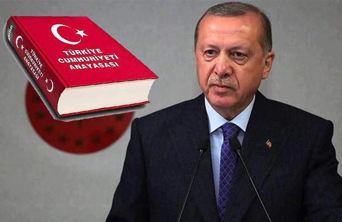 Cumhurbaşkanı Recep Tayyip Erdoğan'dan yeni anayasa açıklaması