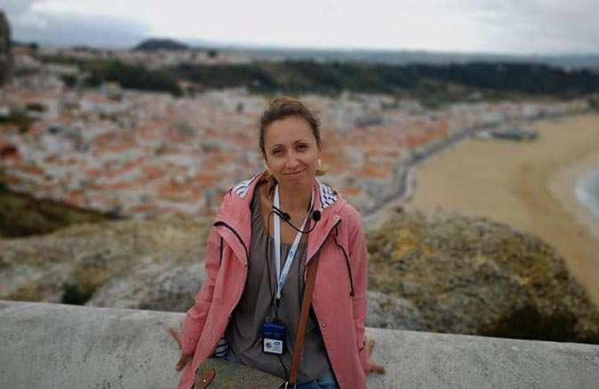 Polonyalı gazeteci Anna Gajewska
