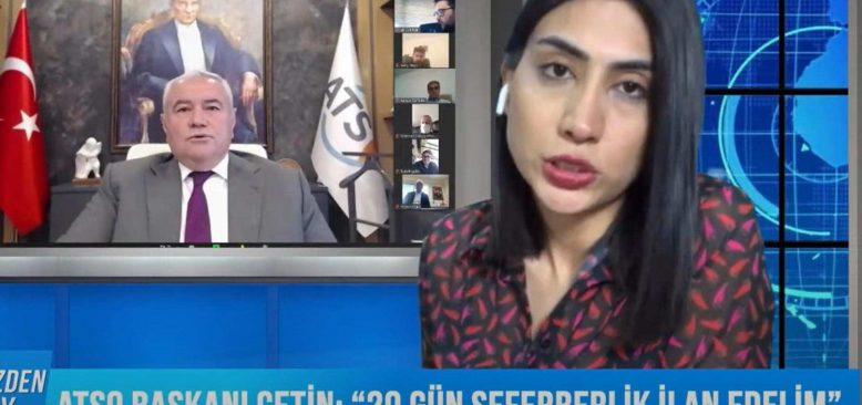 Bizden Duy 25 Şubat 2021 Antalya Gündemi – ATSO Başkanı Çetin'den seferberlik çağrısı