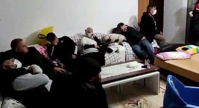 Antalya'da kumar baskını! Yakalanınca 'misafirim' dedi