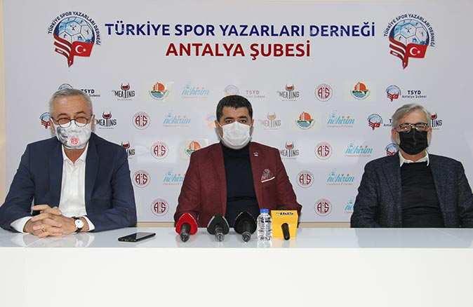 Antalyaspor Kulübü Derneği Başkanı Mustafa Yılmaz: Umarım şehir çağrımızı dikkate alır