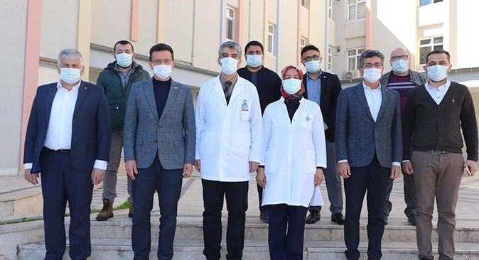 AK Parti Antalya Milletvekili Atay Uslu: Sağlık tesisi kapasitelerimizi arttırıyoruz