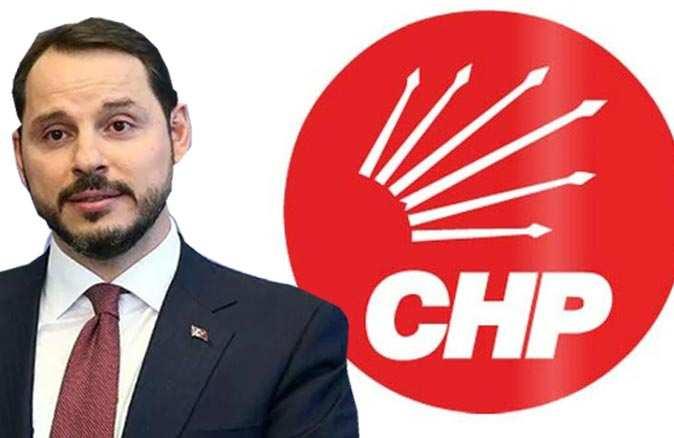 CHP'den Berat Albayrak'a yanıt