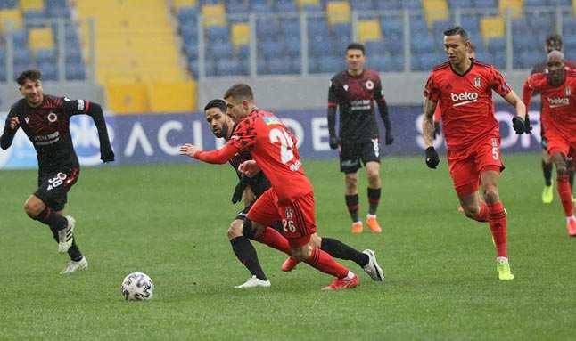 Beşiktaş, Gençlerbirliği karşısında coştu!