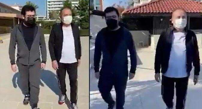 Başkan Muhittin Böcek'in yürüdüğü videoya beğeni yağdı